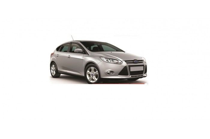 CALHA PARA CARRO (DEFLETOR) NOVO FORD FOCUS HATCH/SEDAN 14/18 4 ...